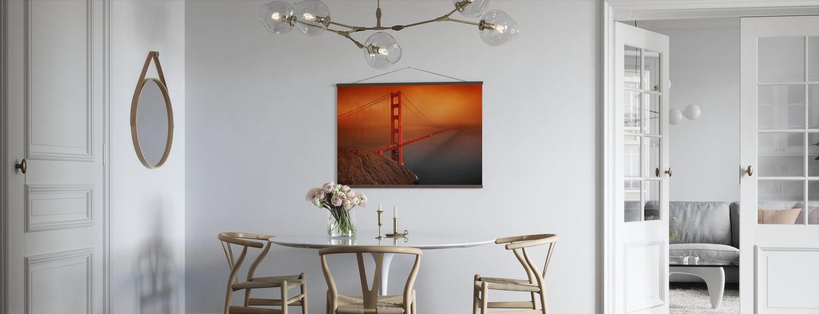 Golden Gate - Poster - Kitchen