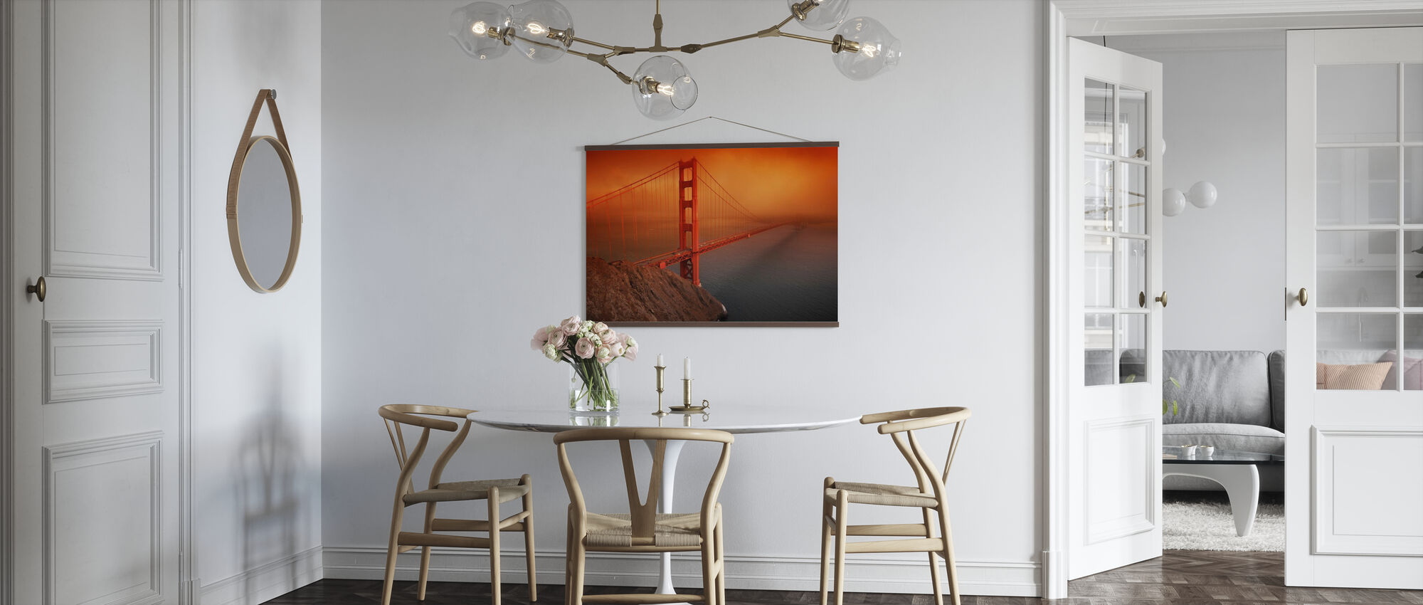 Golden Gate - Poster - Kitchen