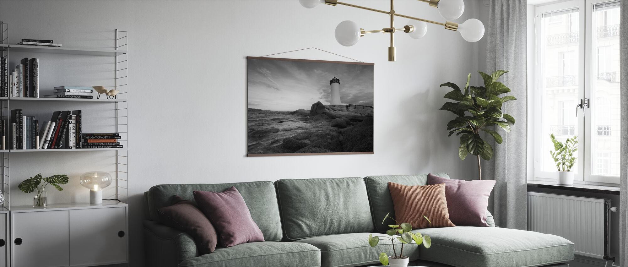 Latarnia morska Sardynia - Plakat - Pokój dzienny