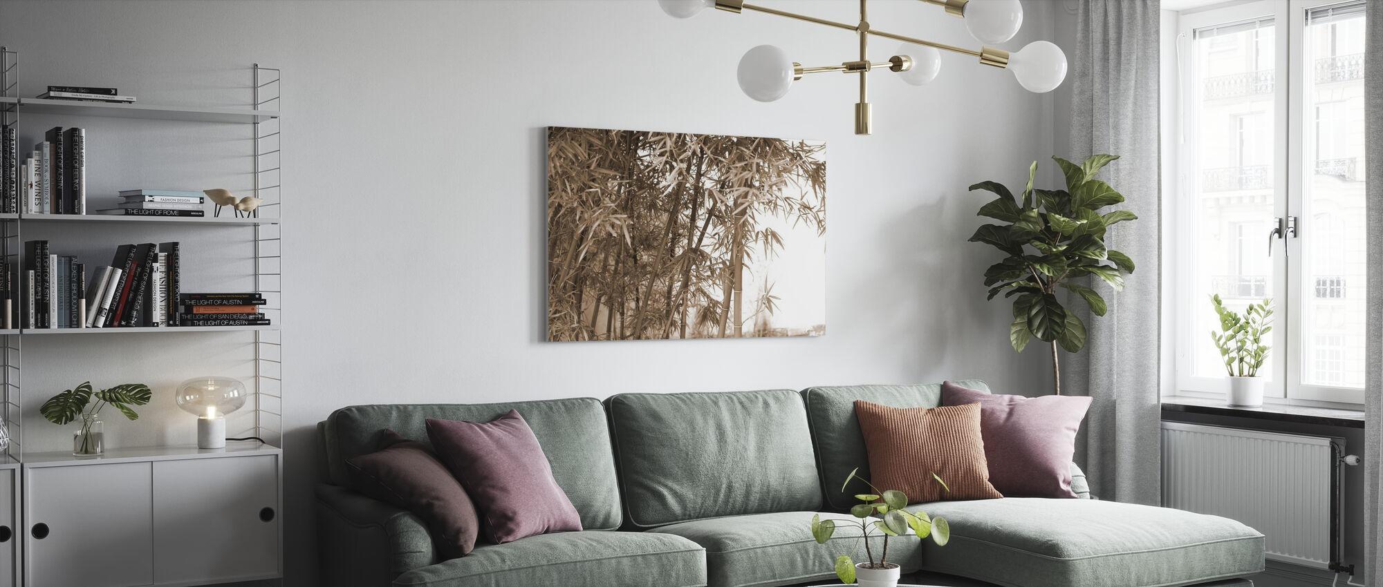 Mooie Bamboe - Canvas print - Woonkamer