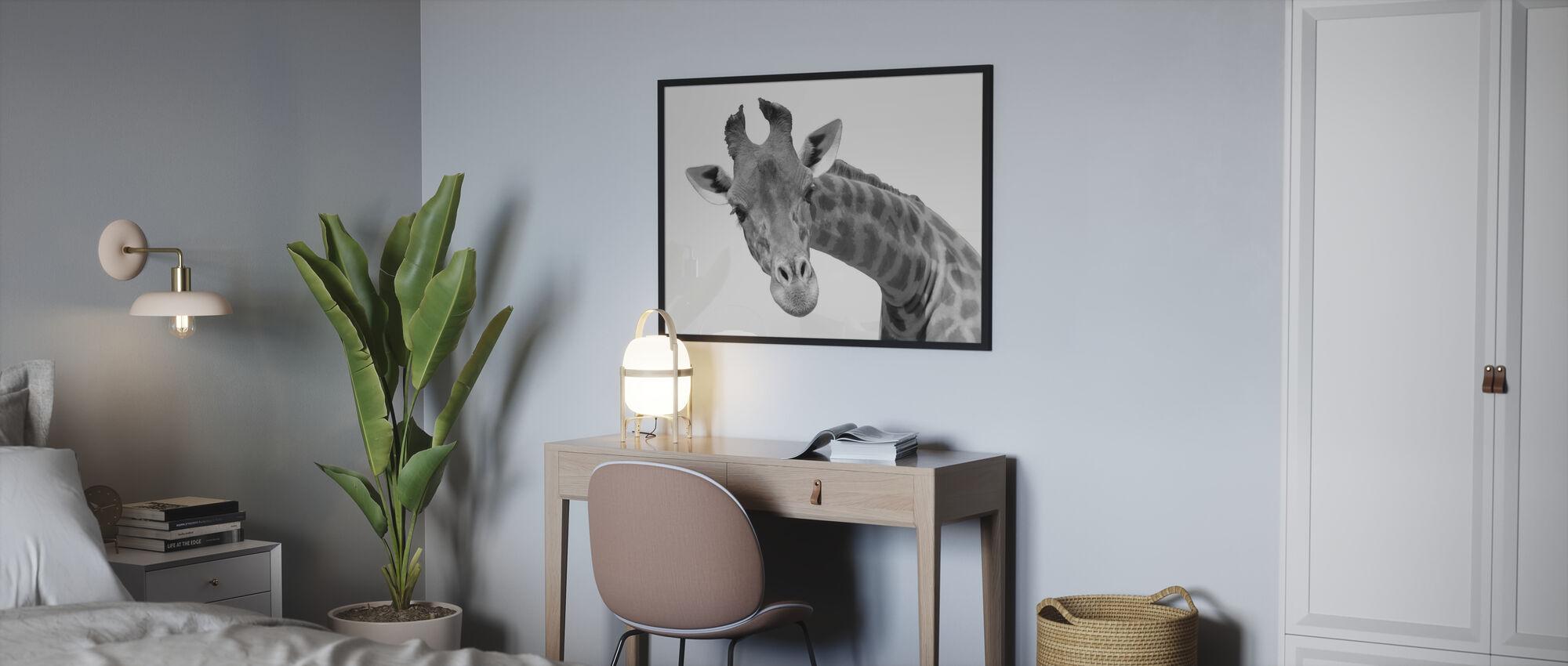 Giraffe - Poster - Bedroom