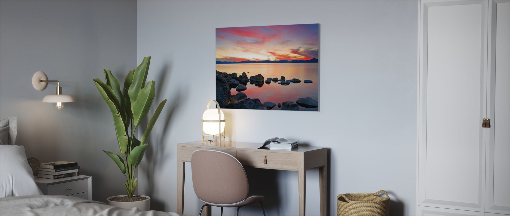 Lake Tahoe, USA - Canvas print - Office