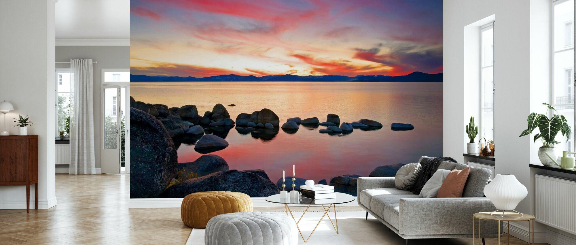 Lake Tahoe, USA - Tapet - Vardagsrum
