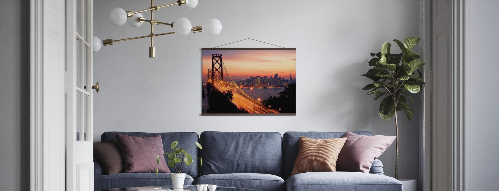 San Francisco, Kalifornia, Yhdysvallat - Juliste - Olohuone