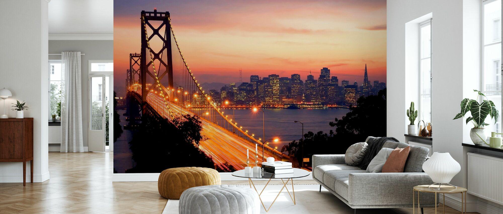 San Francisco, California, USA - Wallpaper - Living Room