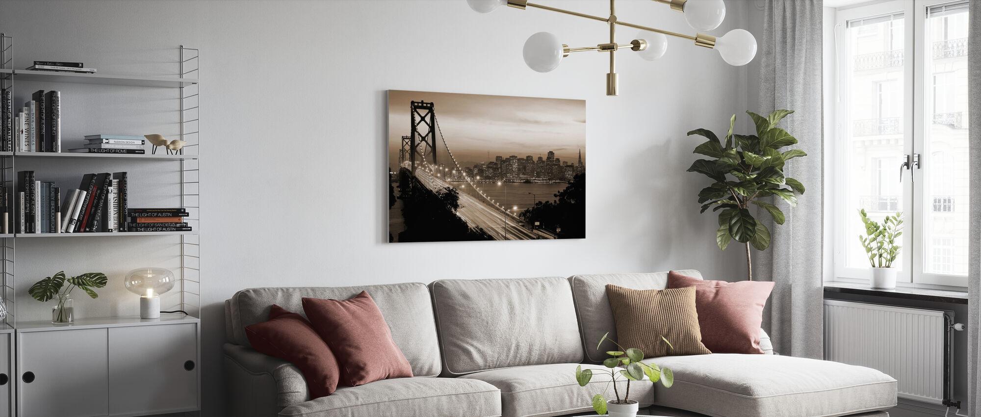 San Francisco, California, USA - Canvas print - Living Room