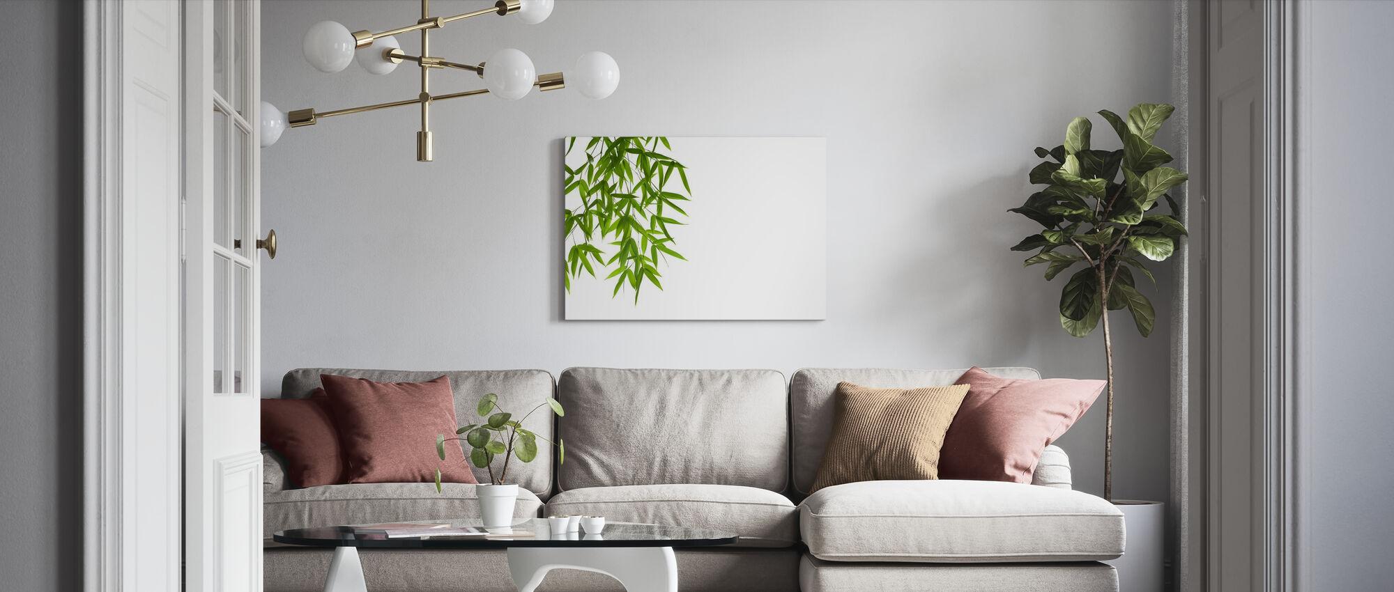 Hangende Bamboe - Canvas print - Woonkamer