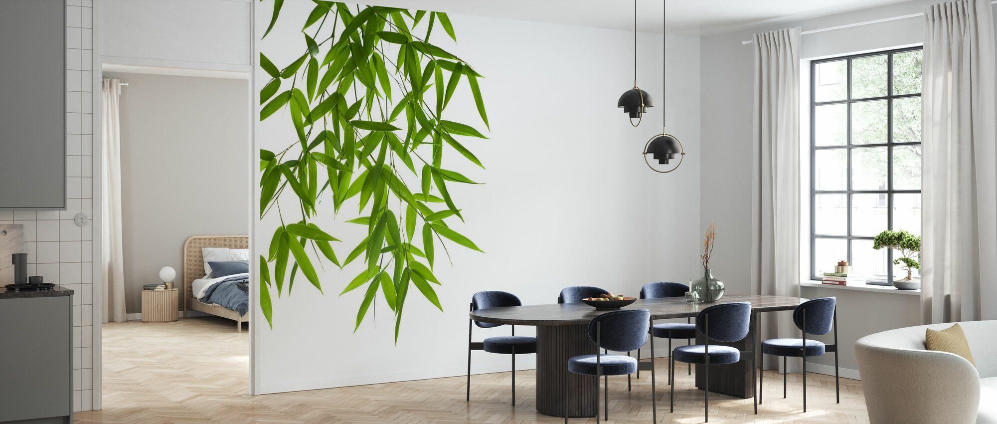 Hangende Bamboe - Behang - Keuken
