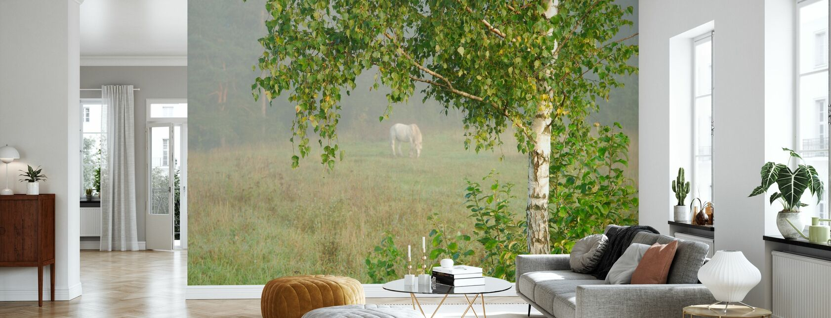 Pasture - Wallpaper - Living Room