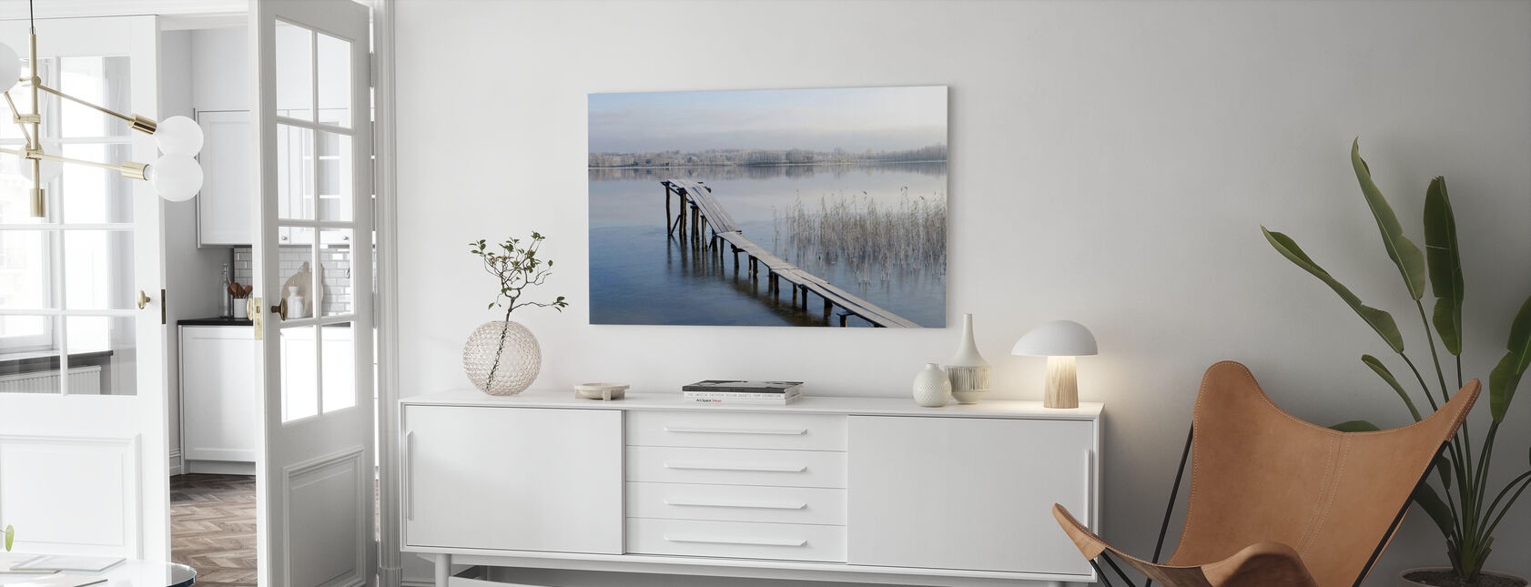 Attributes of Winter - Canvas print - Living Room