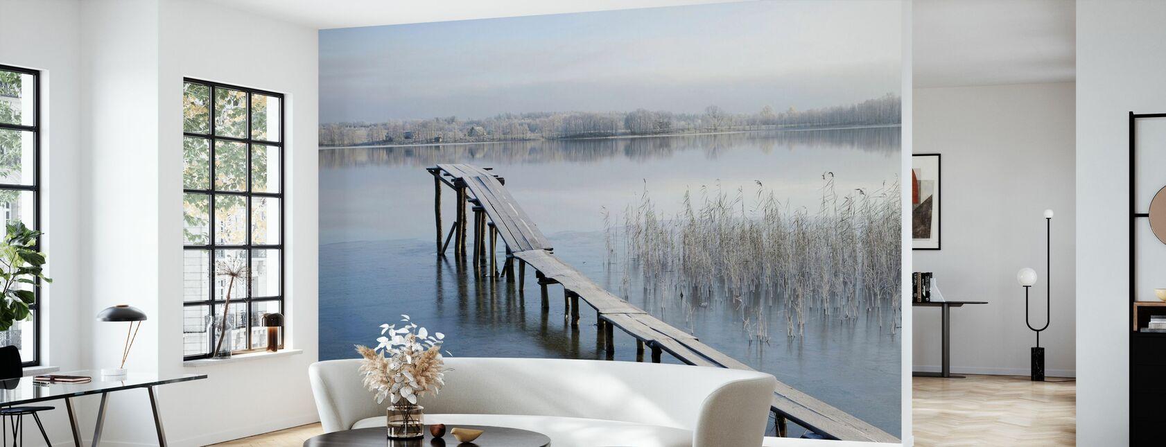 Attributes of Winter - Wallpaper - Living Room