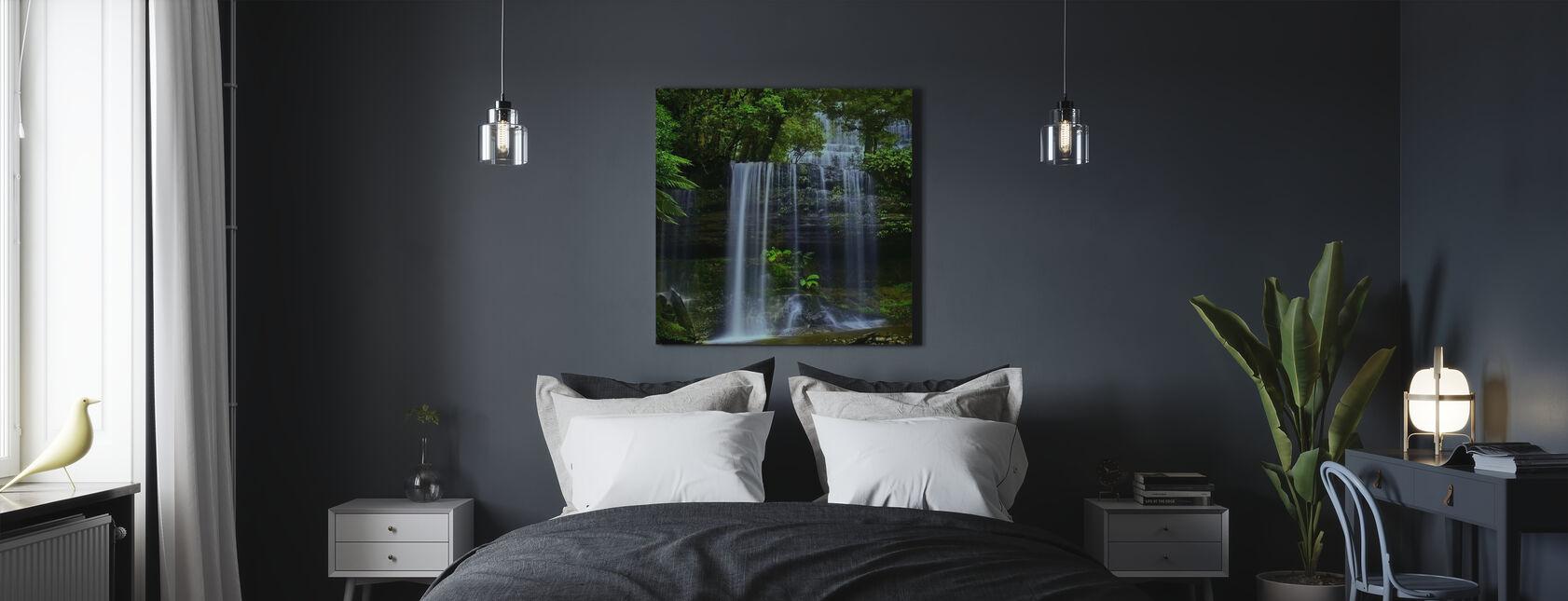 Cascata della Tasmania - Stampa su tela - Camera da letto