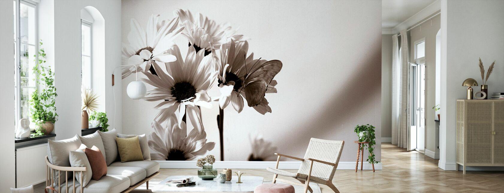 Julia Papillon - Papier peint - Salle à manger