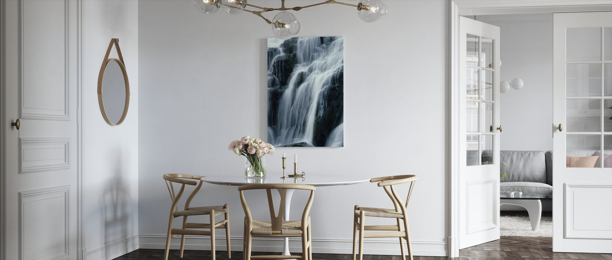 Waterfall - Canvas print - Kitchen