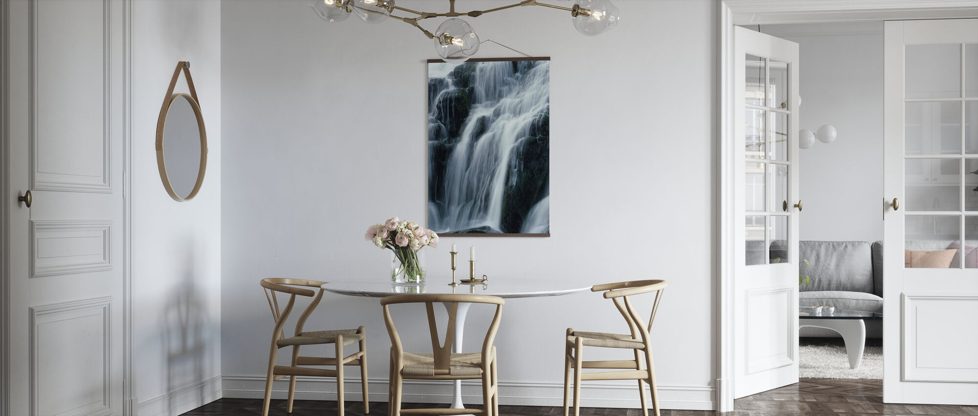 Waterfall - Poster - Kitchen