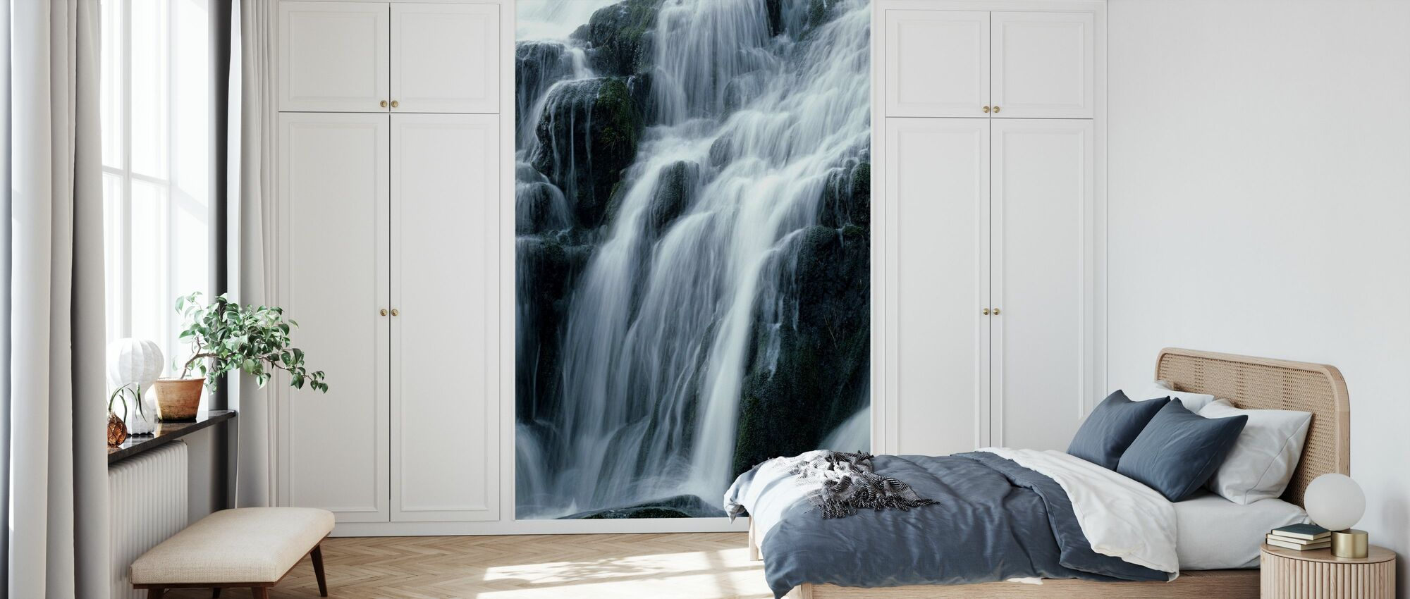 Waterfall - Wallpaper - Bedroom