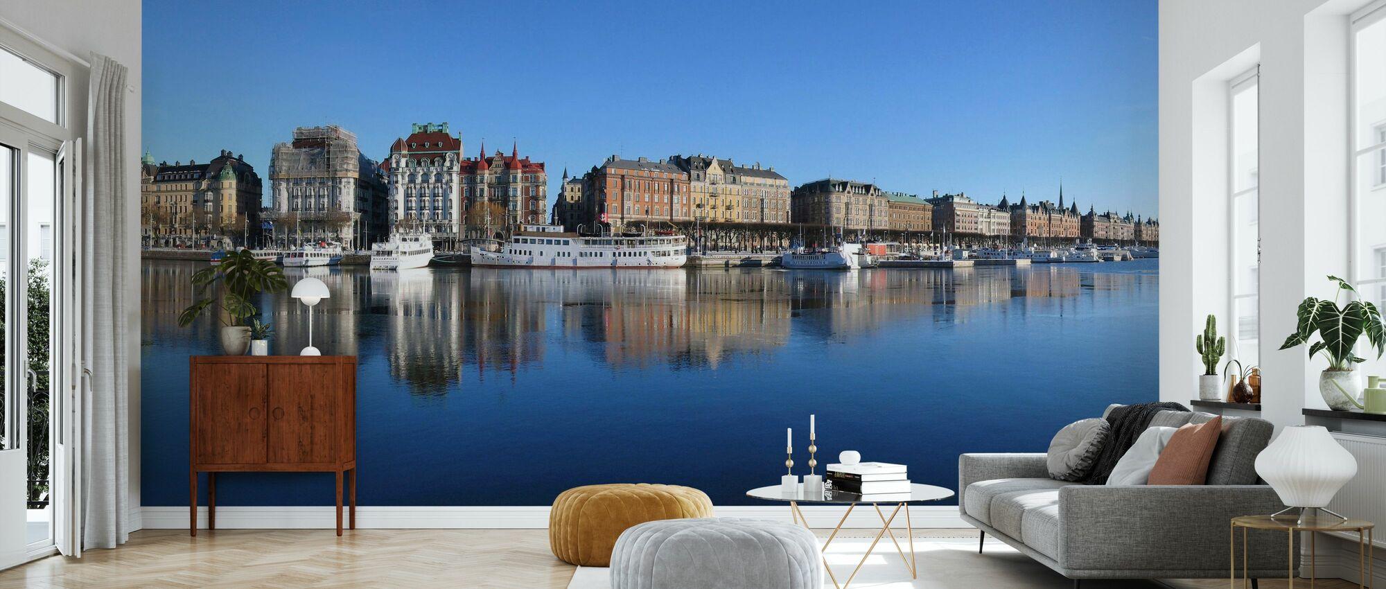 Stockholm Skyline, Sweden - Wallpaper - Living Room