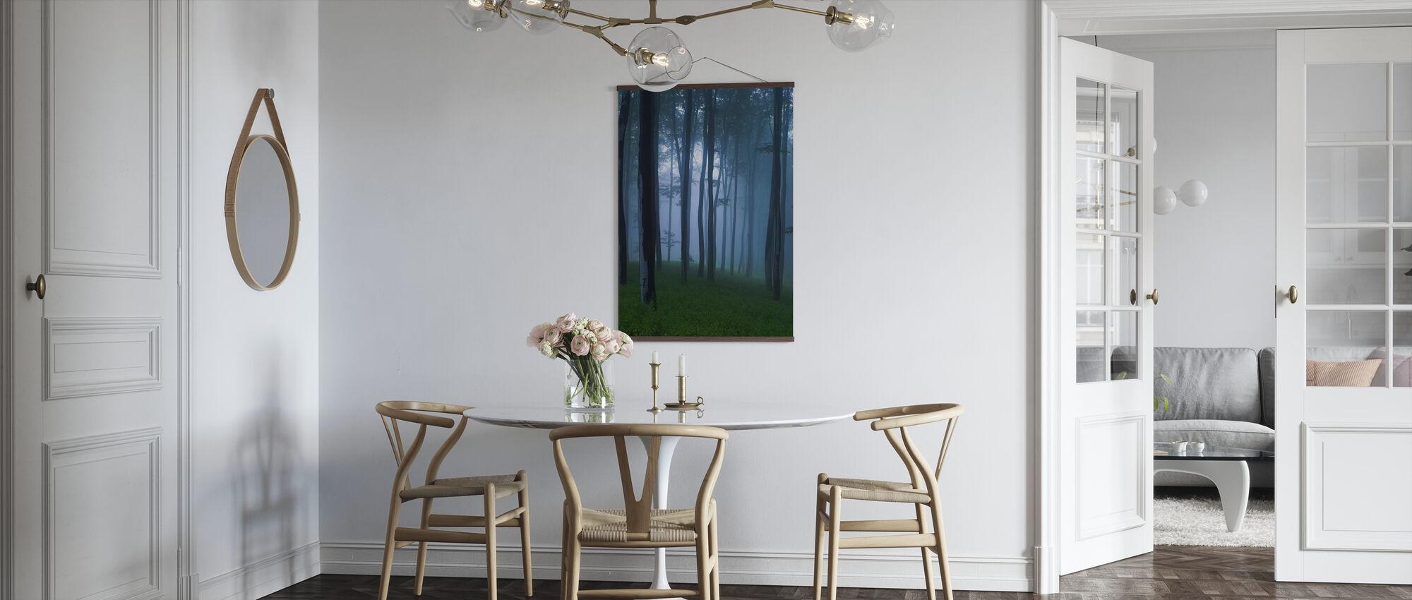 Mystisk skog - Plakat - Kjøkken