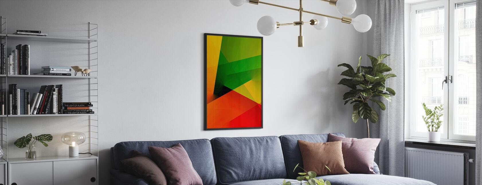 Abstrakt lys - Plakat - Stue