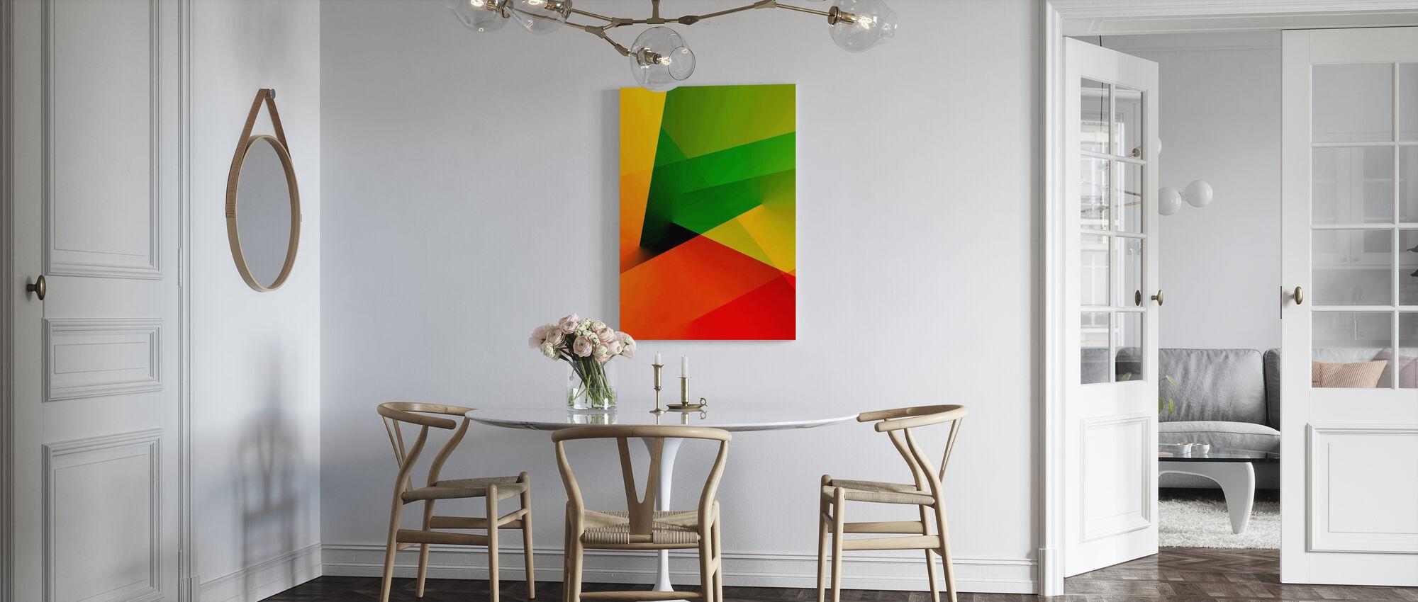 Lumière abstraite - Impression sur toile - Cuisine