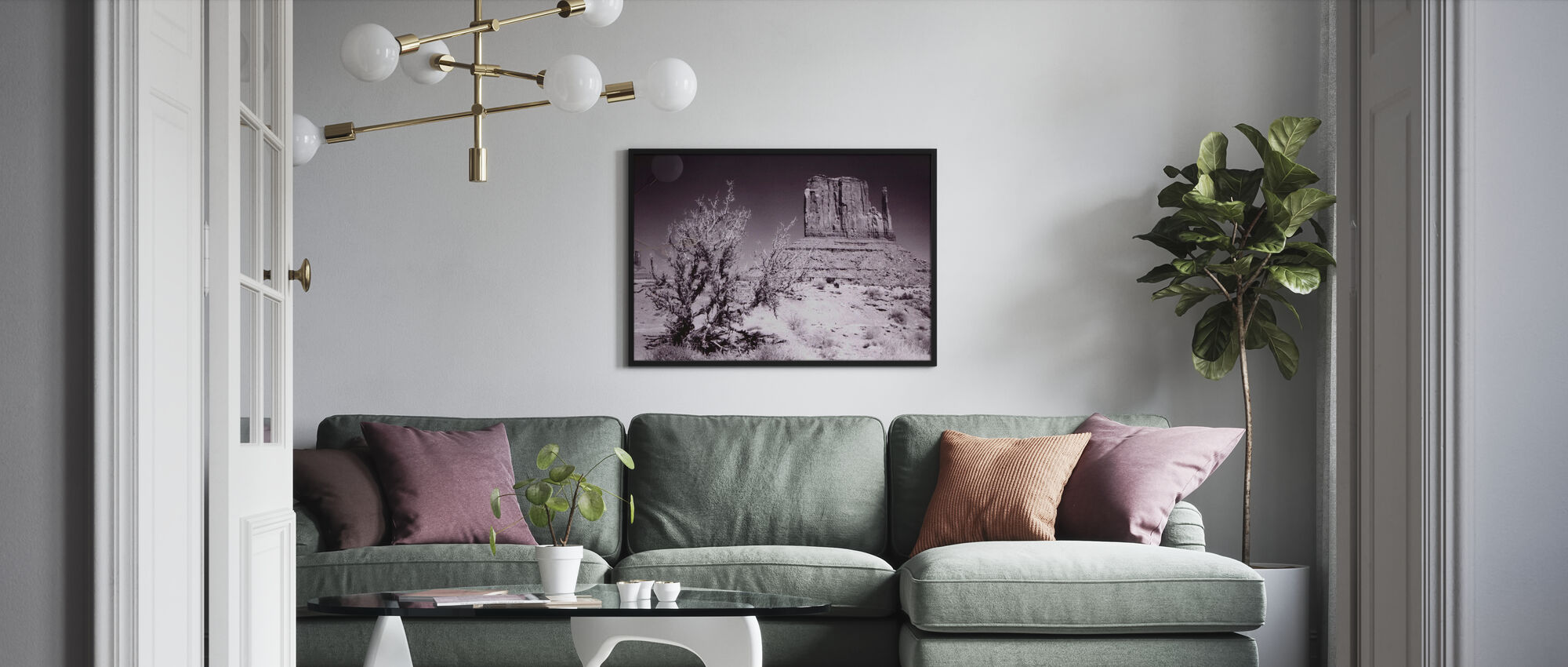 Monument Valley, Utah, USA - Framed print - Living Room
