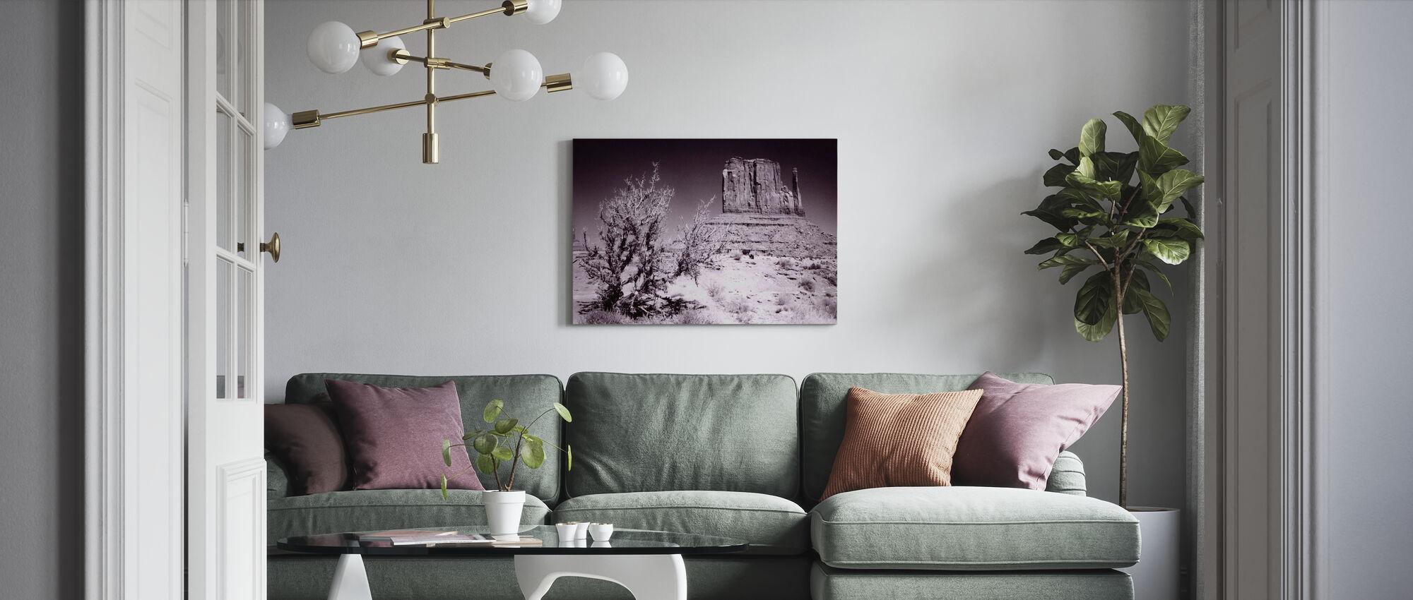 Monument Valley, Utah, USA - Canvas print - Living Room