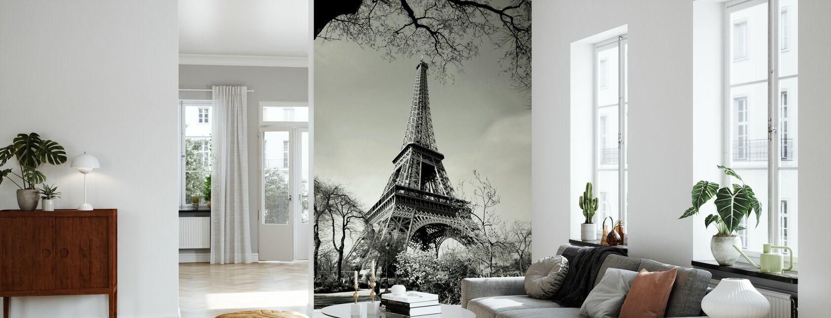 Eiffel Tower - Wallpaper - Living Room
