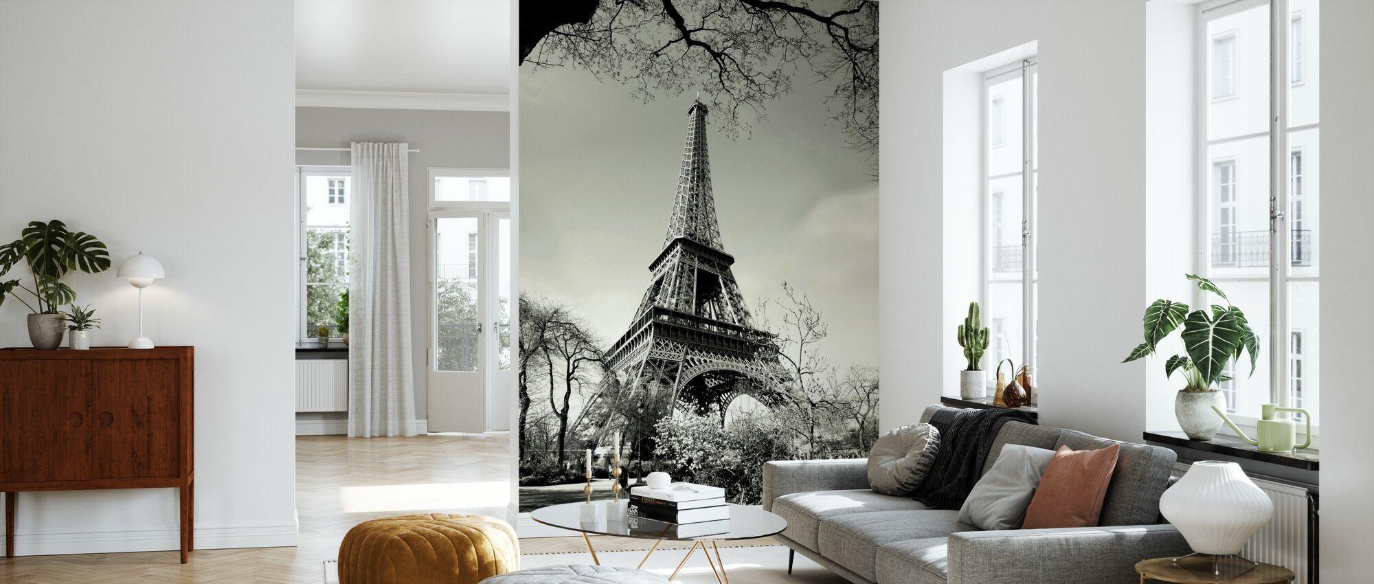 Eiffeltornet - Tapet - Vardagsrum