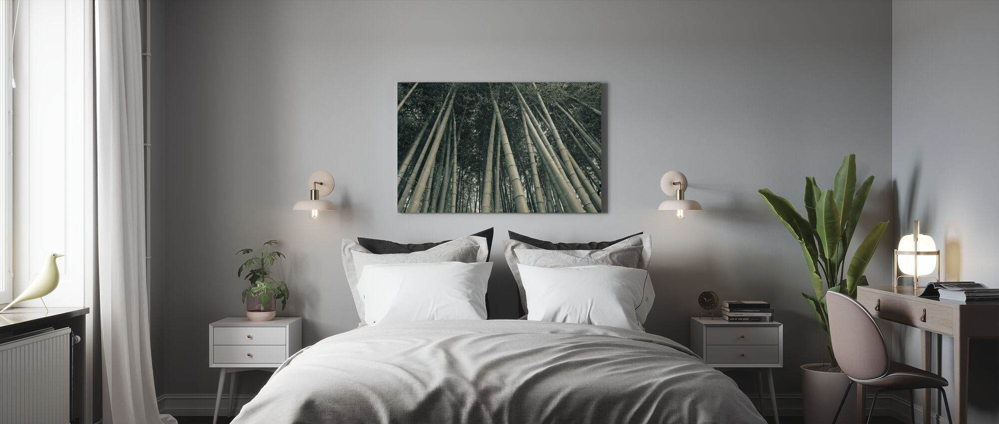 Bamboo Forest - Canvas print - Bedroom