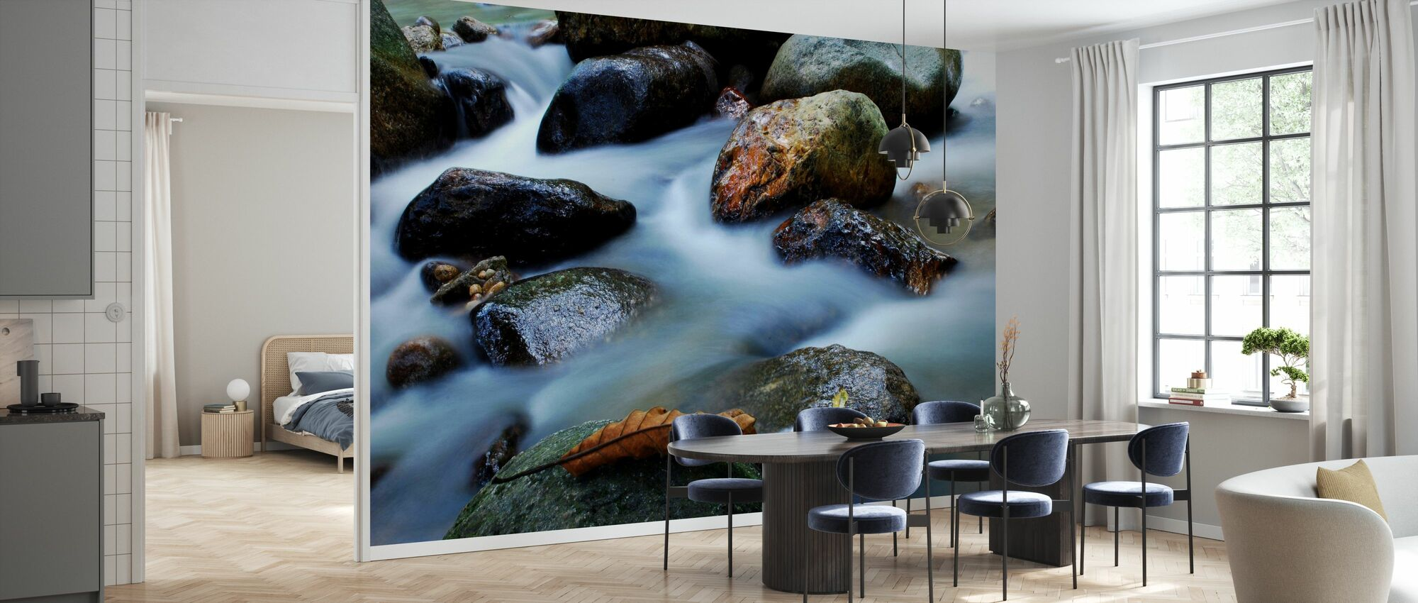 Waterfall Close Up - Wallpaper - Kitchen