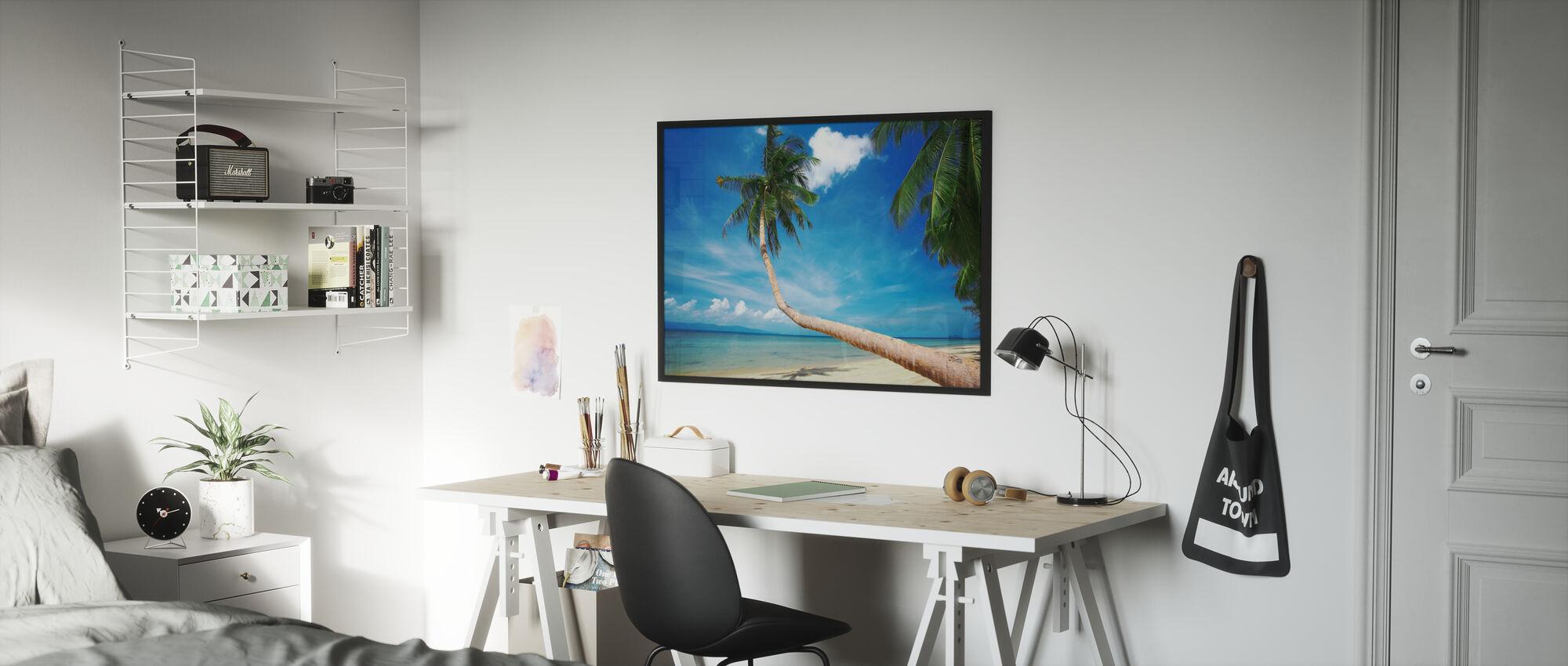 Palme und Glückseligkeit - Poster - Kinderzimmer