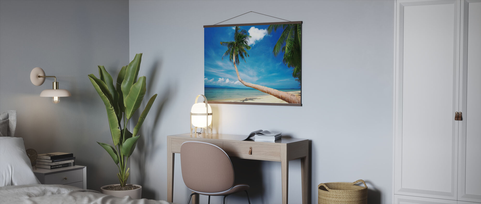 Palm and Bliss - Poster - Office