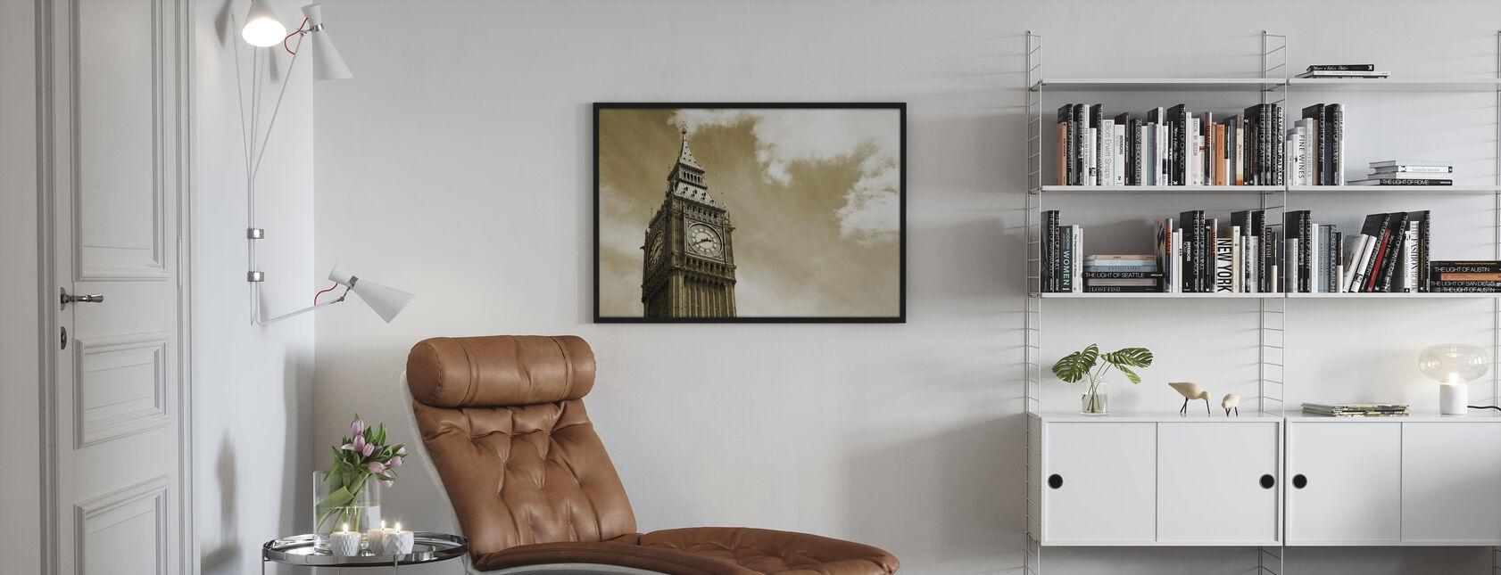 Big Ben, Londra, Regno Unito - Stampa incorniciata - Salotto