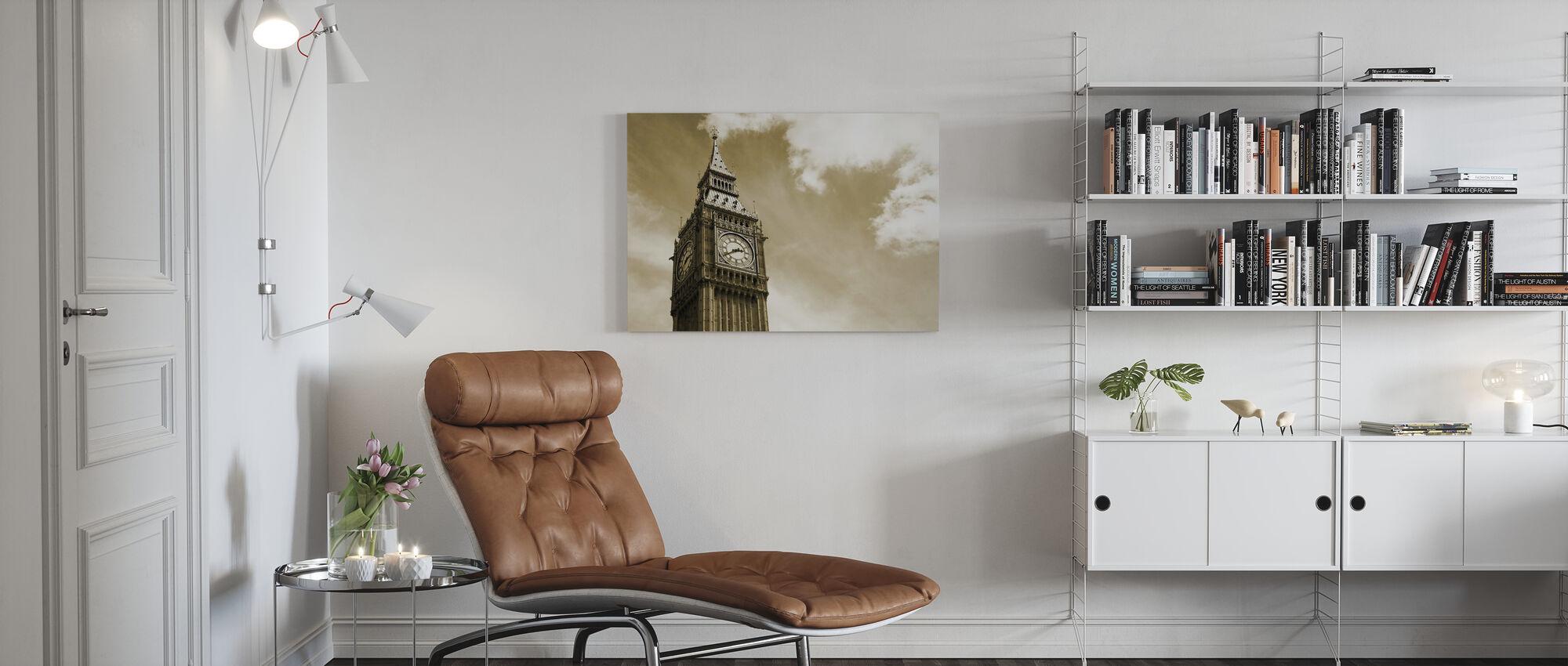Big Ben, London, Storbritannien - Canvastavla - Vardagsrum