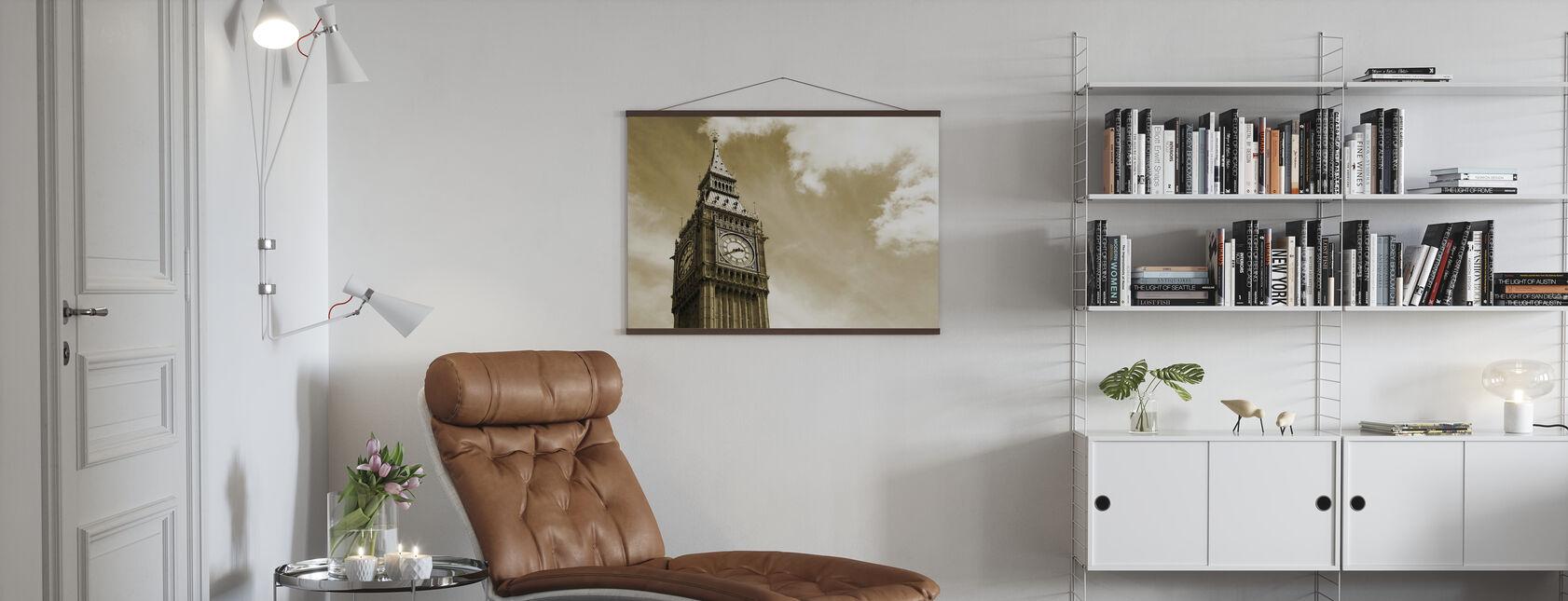 Big Ben, Londen, Verenigd Koninkrijk - Poster - Woonkamer