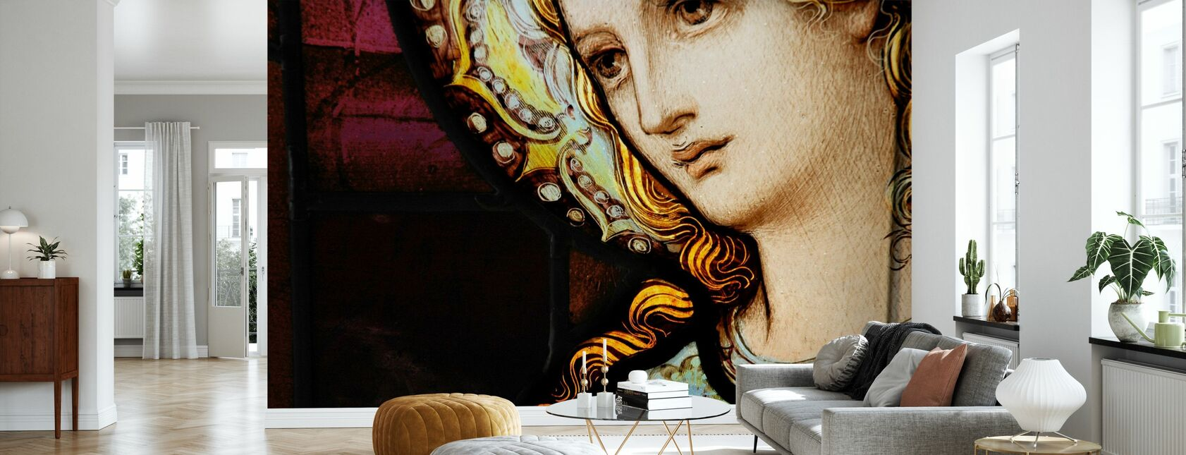 Mother Mary - Wallpaper - Living Room
