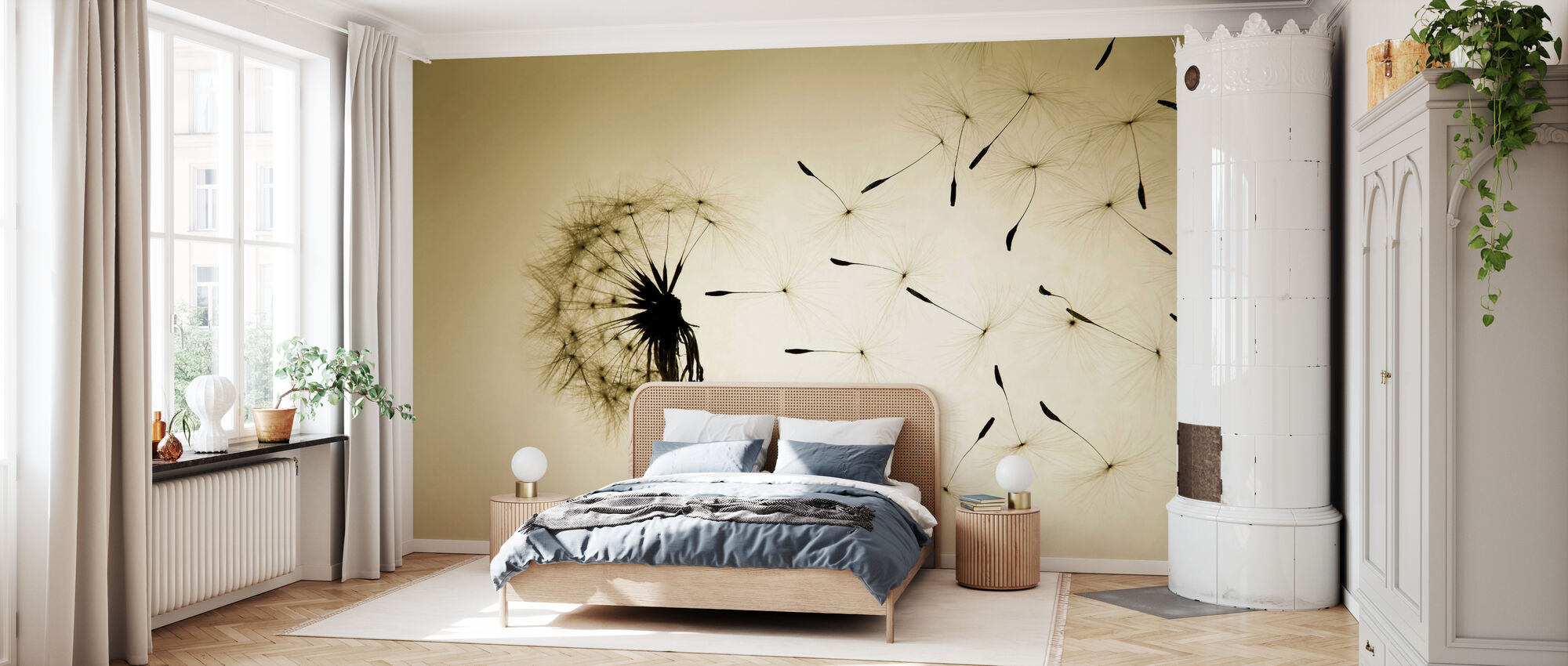 Dandelion - Wallpaper - Bedroom