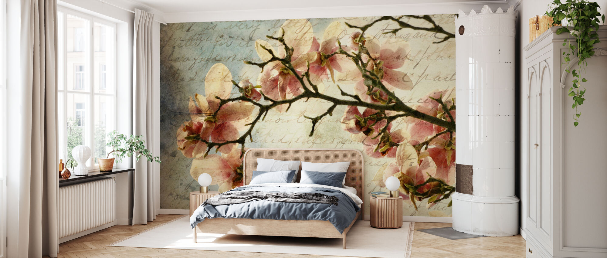 Magnolia Memories - Wallpaper - Bedroom