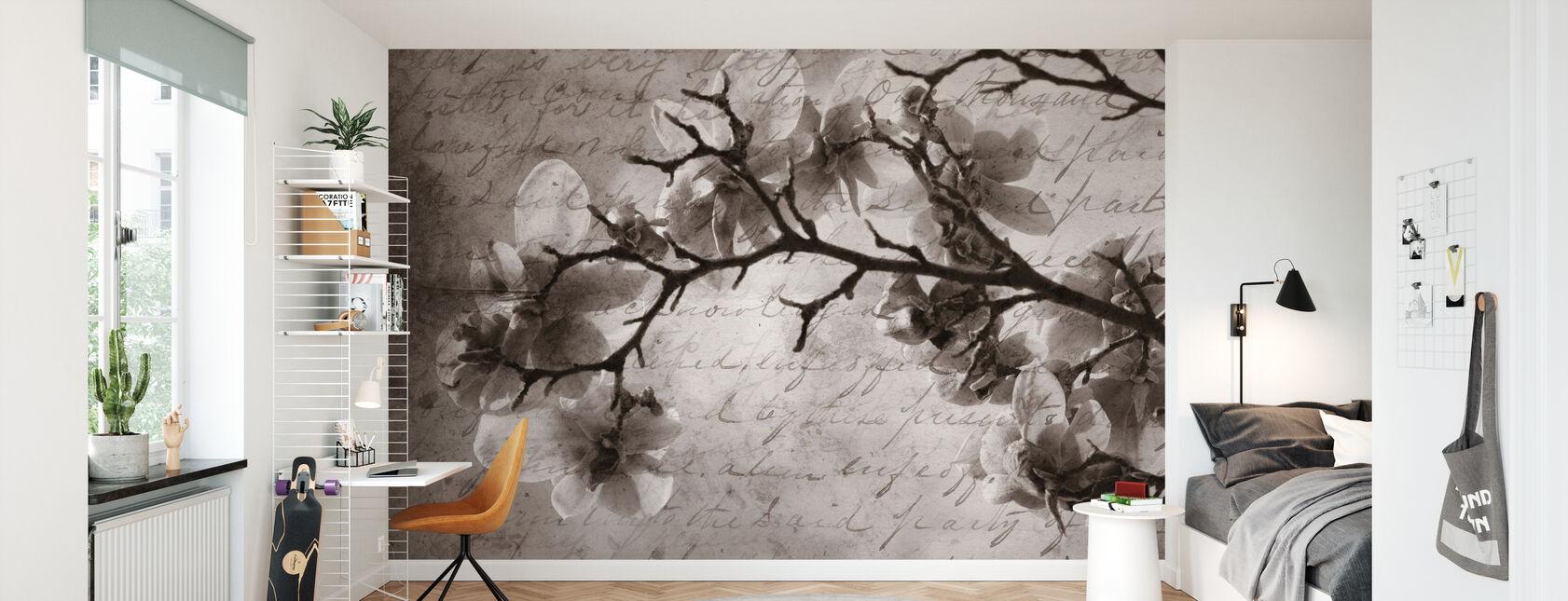 Magnolia Muistoja - Tapetti - Lastenhuone