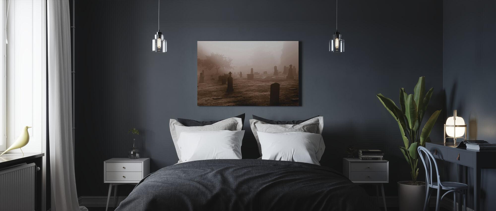 Graveyard in October - Canvas print - Bedroom