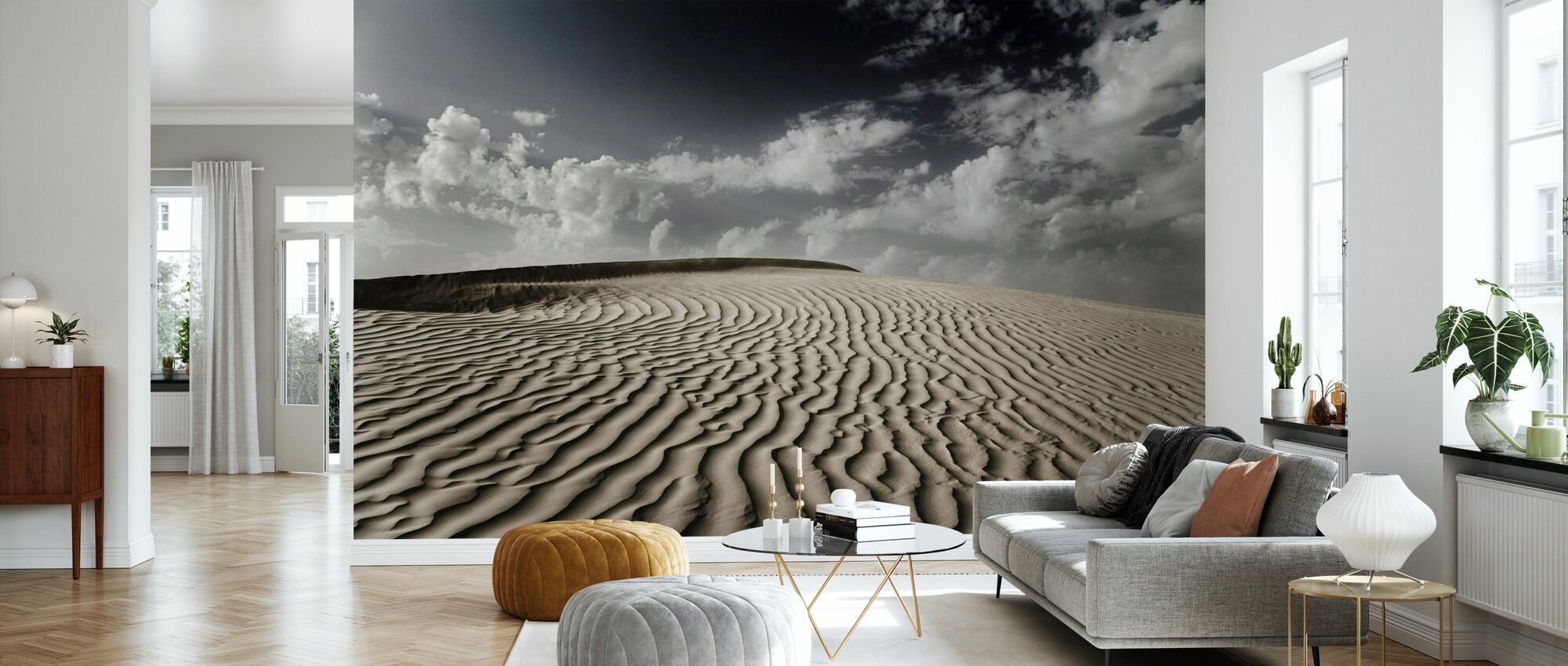 ørken Dune Sahara - Tapet - Stue