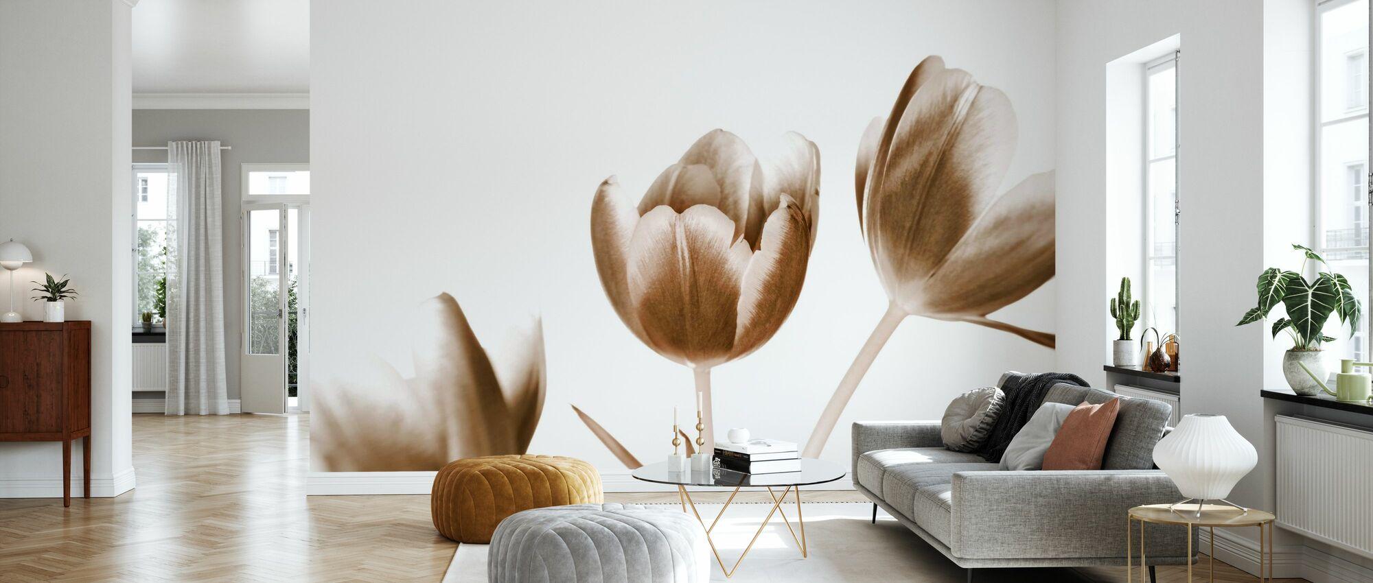 Tulips - Wallpaper - Living Room