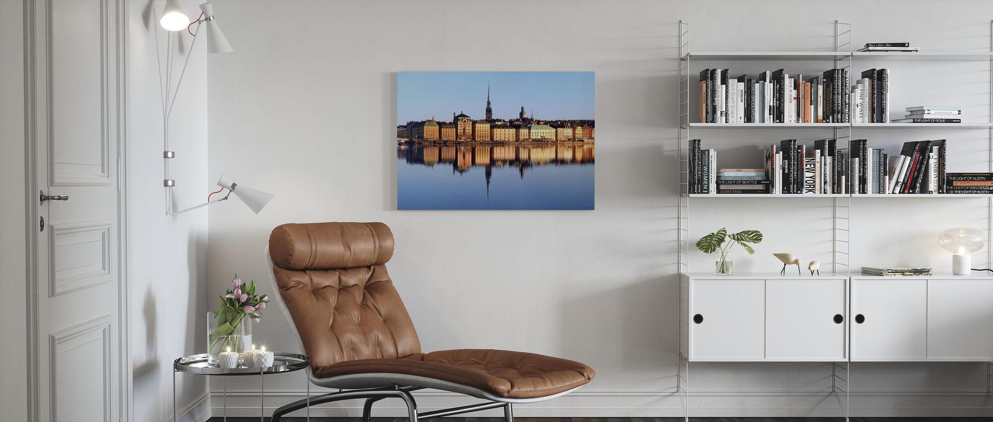 Stoccolma Skeppsbron - Stampa su tela - Salotto