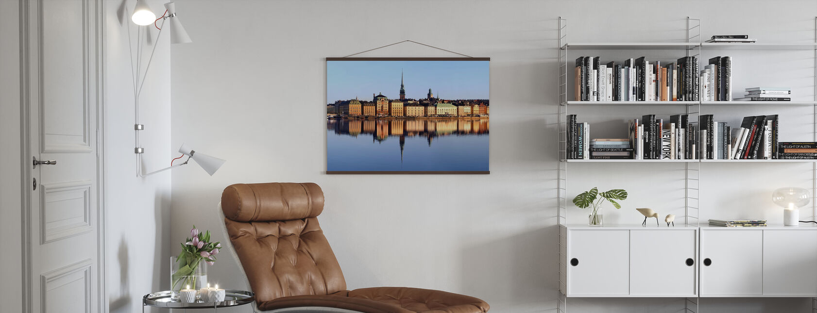 Stockholm Skeppsbron - Poster - Wohnzimmer