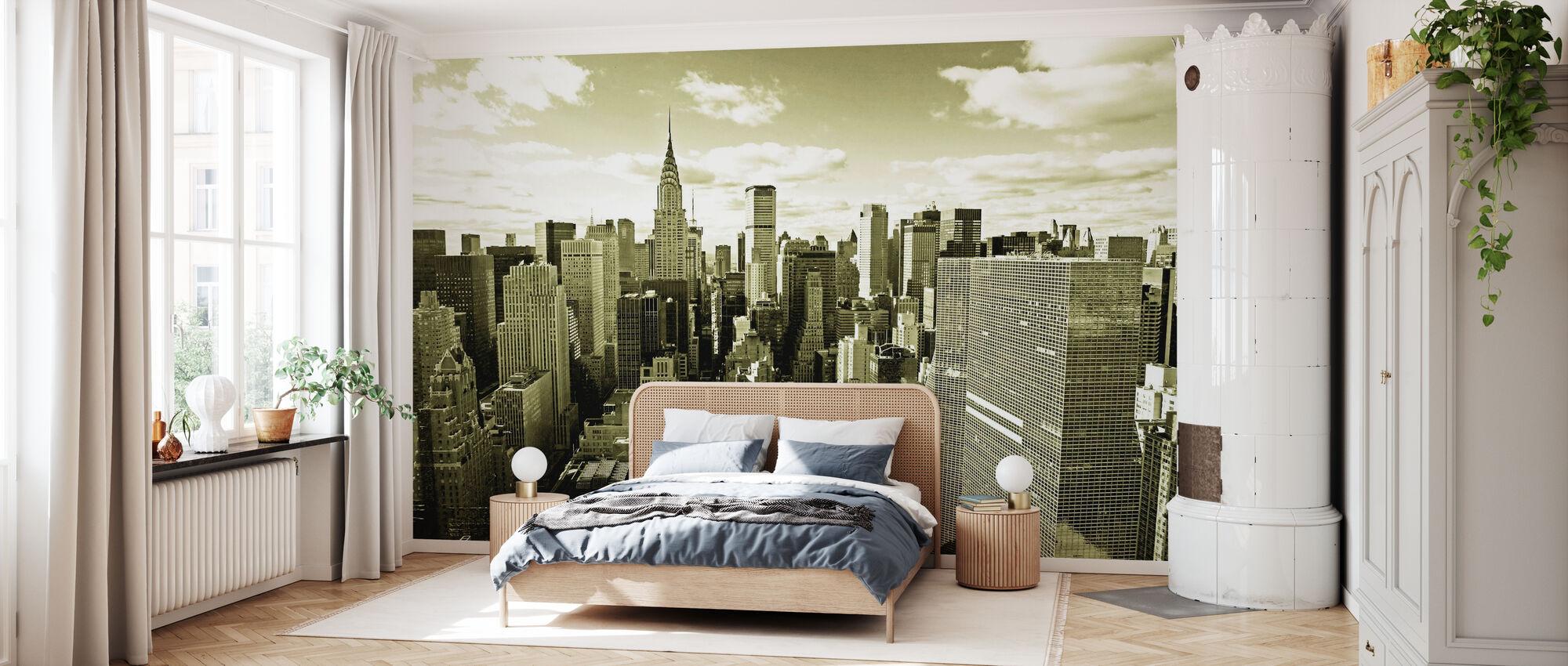 Above Manhattan - Wallpaper - Bedroom