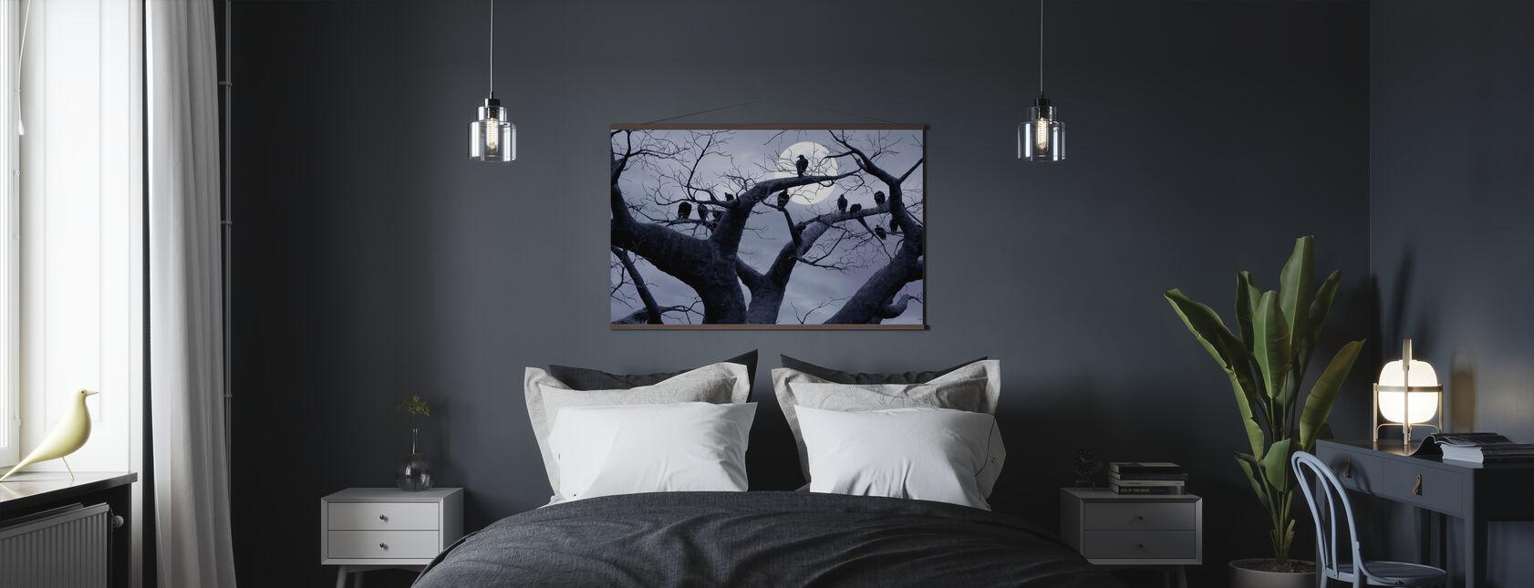 Spooky Tree - Poster - Bedroom