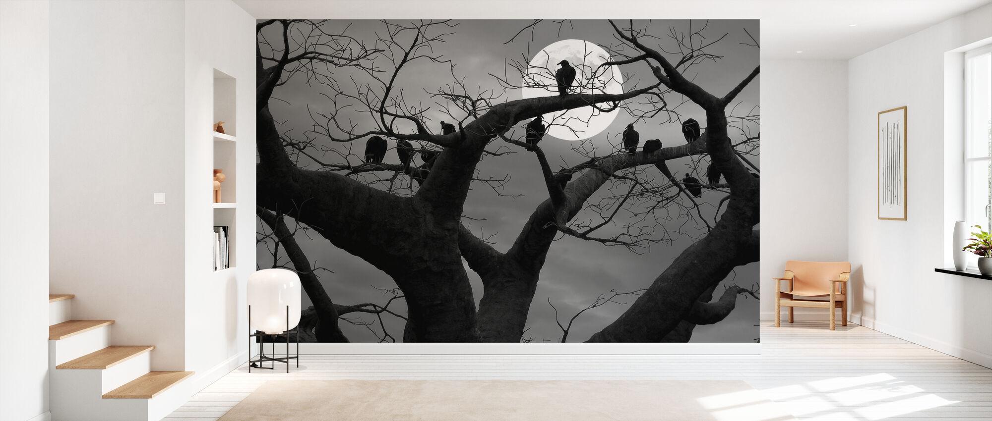 Spooky Tree - Wallpaper - Hallway