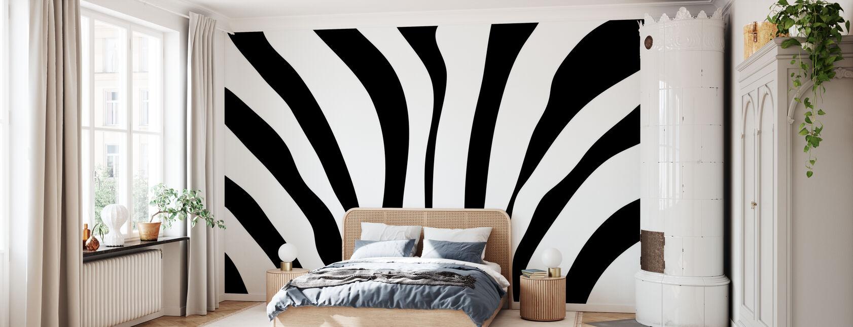 Texture zebrata - Carta da parati - Camera da letto