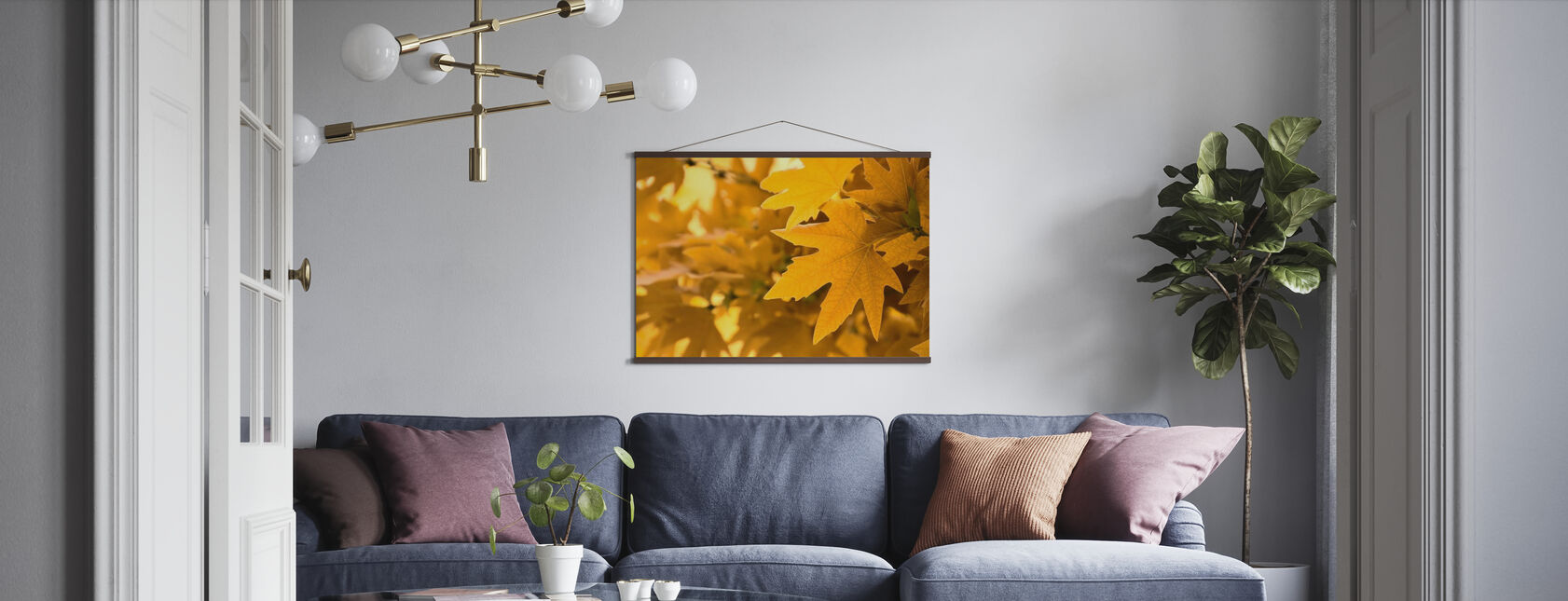 Yellow Leaves - Poster - Living Room