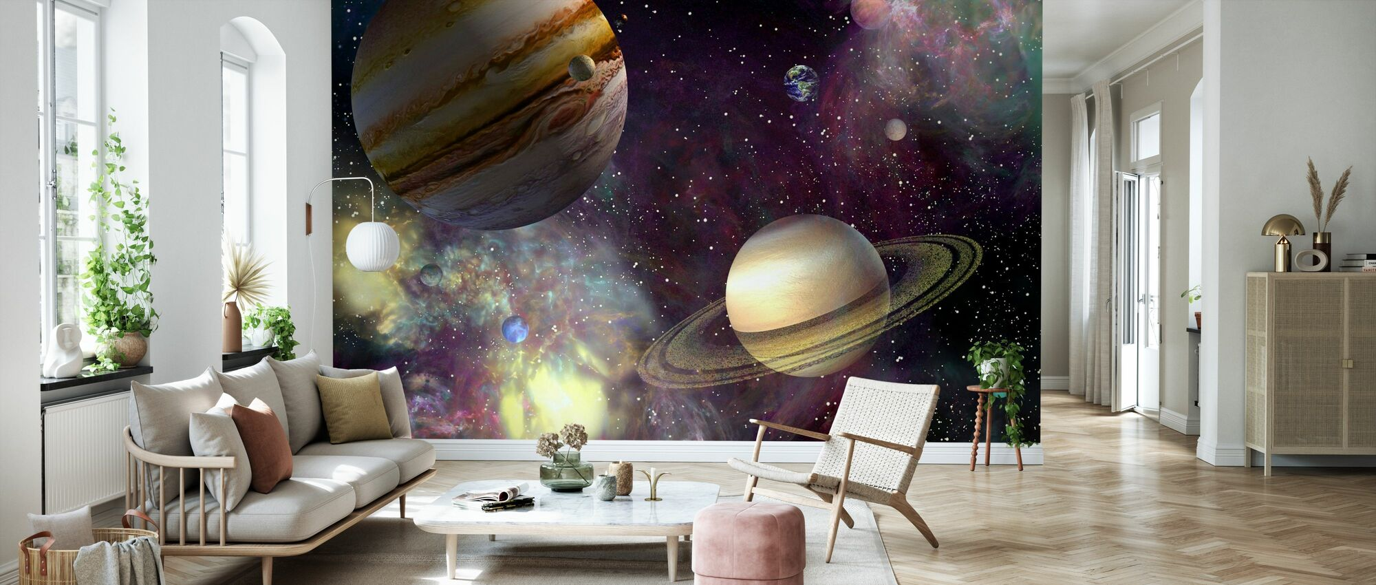 Our Solar System - Wallpaper - Living Room